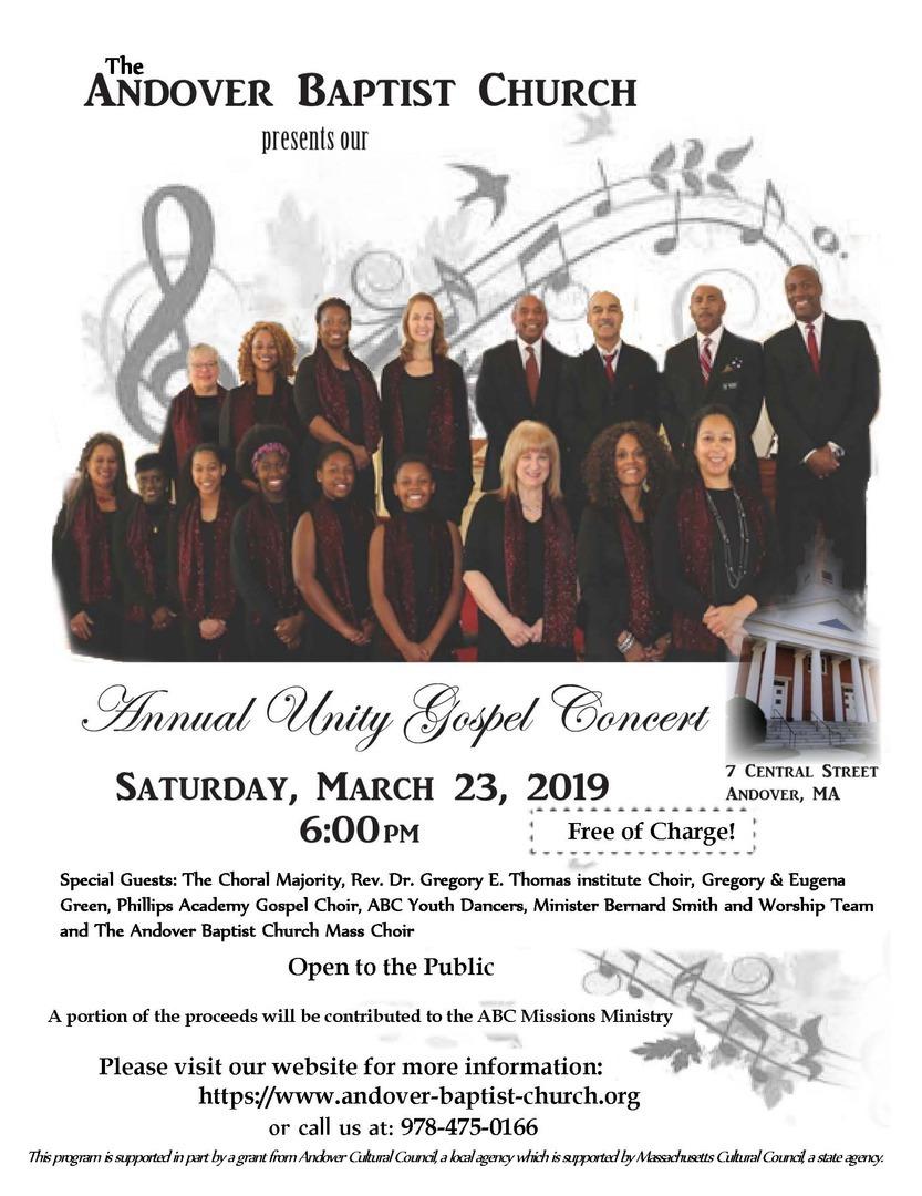 Andover Baptist Church - News & Events
